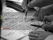 Different Aspects of Practical Approaches towards Collaborative Writin