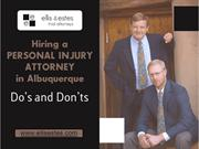 Tips to Choose a Personal Injury Attorney in Albuquerque