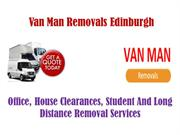 Man with a van Edinburgh Removal Services