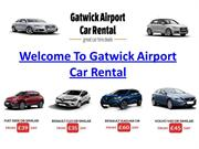 Car Hire At Gatwick Airport