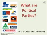 Political Parties PowerPoint-REAL