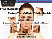 Restore Youthful Skin With Our Facials