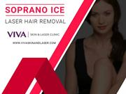 Soprano Ice Laser Hair Removal at Viva Skin and Laser Clinic