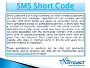 Free Short Codes | SMS Short Code Service |Short Codes Service