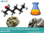 Liquid Crystal Materials Market Research Report 2017: Reports Monitor