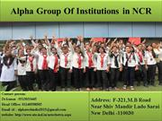 Alpha Group Of Institutions in Delhi