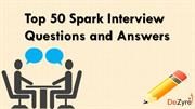 Spark Interview Questions and Answers