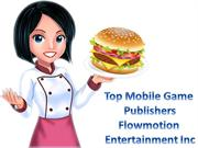 Flowmotion Entertainment's Brand New Master Chef Fun Food Making  Game