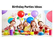 Birthday Parties ideas for Costumes