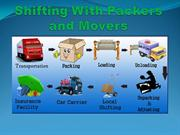 shifting with packers and movers