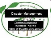 Priyal's (Disaster Management)