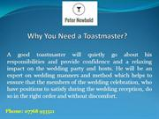 Why You Need a Toastmaster