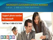 MS Office Support Number 1-888-613-7444