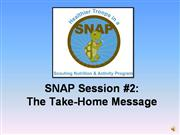 SNAP Session 2