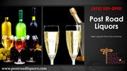 Get your favorite Beer, Wine and Spirits at Post Road Liquors