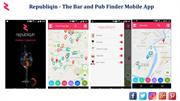 Republiqin - The Bar and Pub Finder Mobile App