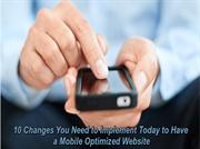 10 modifications that can make your website more mobile friendly