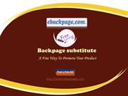 Backpage substitute