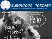 Wants A Translation Service In Toronto, Canada