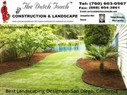 Best Landscaping Designs In San Diego, California