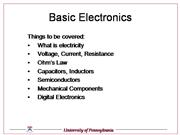 Basic Electronics v2