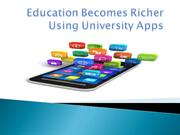 University apps bring education higher with ease