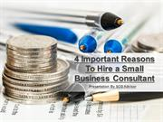 4 Important Reasons to Hire a Small Business Consultant