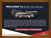 Welcome to Printer Tech Service +1-855-526-8286