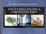 Welcome to Buildexpo Africa 2017