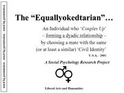 Equallyokedtarians - A Social Psychology Research Project - Liberal Ar