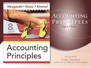 Accounting Principles 8th Weygars Kieso Kimmel Chapter 01