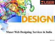 Muser Web Designing Services in India