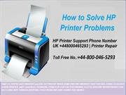 How to Fix HP Printer Errors by HP Technical Support Number