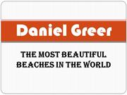 Rabbi Daniel Greer - The Most Beautiful Beaches in the World