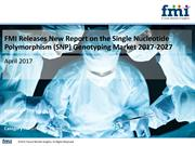 Single Nucleotide Polymorphism (SNP) Genotyping Market 2