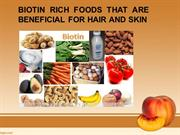 Biotin Rich Foods That Are Beneficial For Hair And Skin