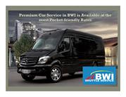 Premium Car Service in BWI is Available at the Most Pocket-Friendly Ra