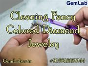 Cleaning Fancy Colored Diamond Jewelry