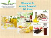 Pure essential oils just a click away from you