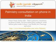 Palmistry consultation on phone in India