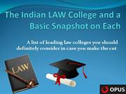 List of Top Indian Law Colleges