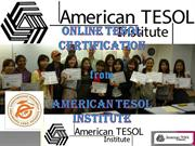 best tesol certification programs