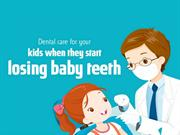 Dental Care for Your Kids When They Start Losing Baby Teeth