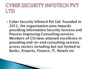 CYBER SECURITY INFOTECH PVT LTD