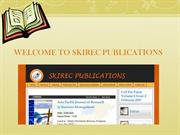 reaserch paper publication site