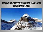 Know about the Mount Kailash Tour Package