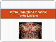 How to Understand Japanese Tattoo Designs - Frank lao
