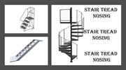Types and Features of Stair Tread Nosing
