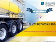 International freight shipping Companies USA