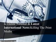 World Breaking News and Latest International News Headlines